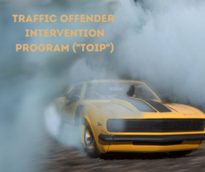 Traffic Offender Intervention Program